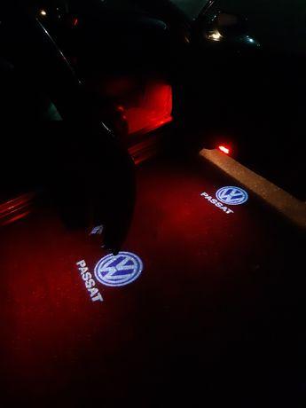 Holograme dedicate VW. (lampi led portiere)