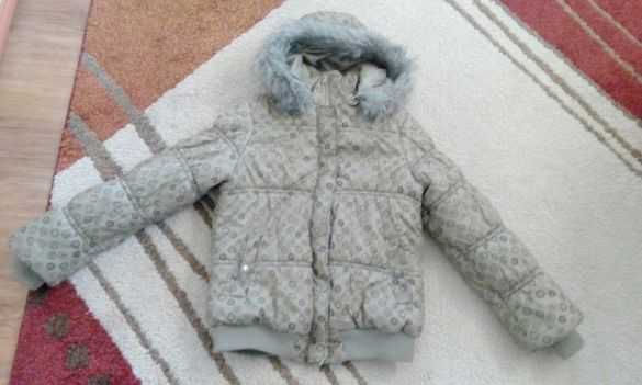 Зимно яке за момиче