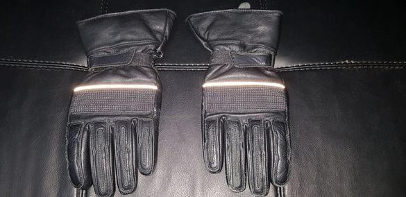 Кожени ръкавици sector естествена кожа отгоре с пълнеж кварцов пясък