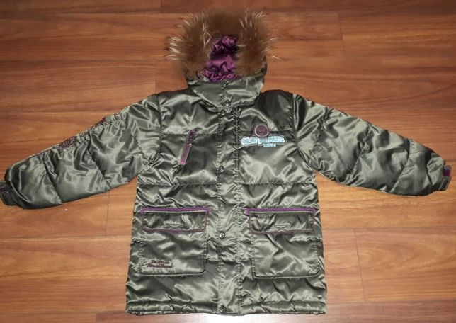 Зимняя куртка на 135-150см