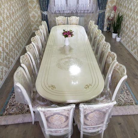 Стол стулья новый