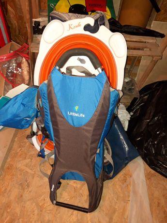 Little Life Ranger scaun copii drumetii/munte stare excelenta