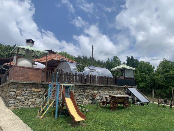 Продава къща до Узана-Габрово