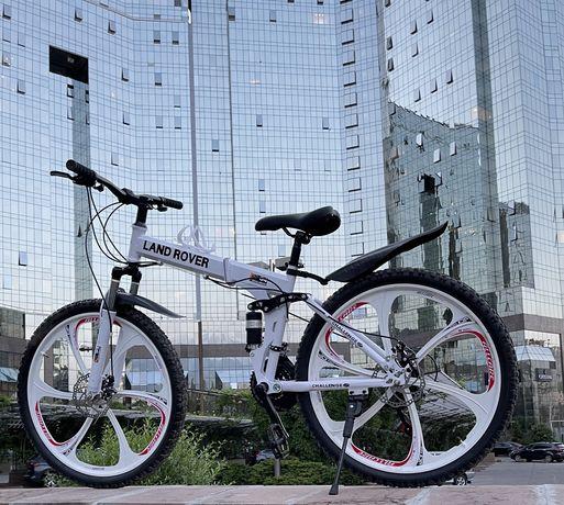 Скоростной складной велосипед титановый диск/литые диски Brend