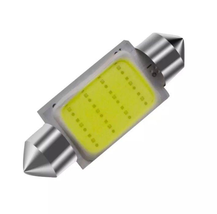Becuri led numar CanBus C5W plasma, 39 mm, generatie noua, model 2021