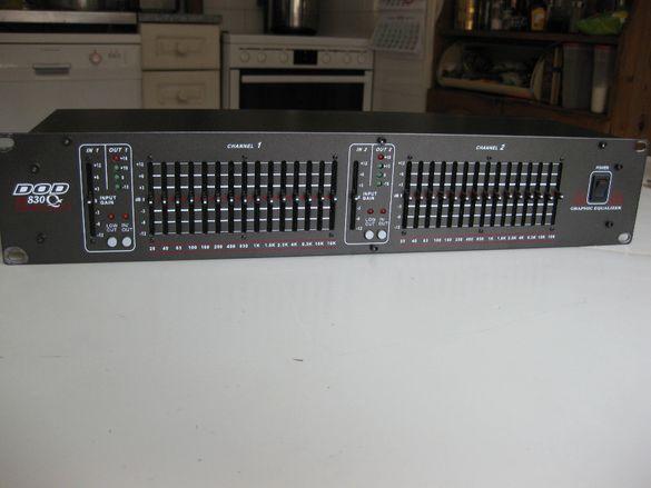Еквилайзер DOD SR 830 Qx