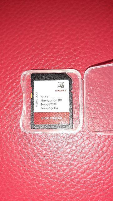 Card SD Nou Navigatie GPS Seat MIB2 Sat Nav 2020