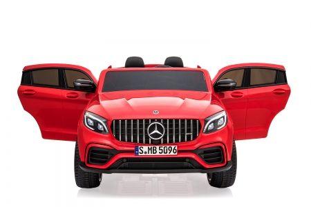 Masinuta electrica pt. 2 copii Mercedes GLC63s 4x4 12V 10Ah #Rosu