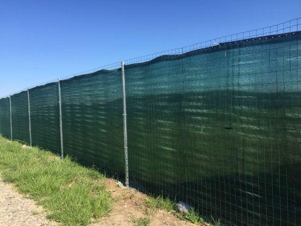 Plasa verde pentru gard / antivant / antipraf/ protectie / mascare