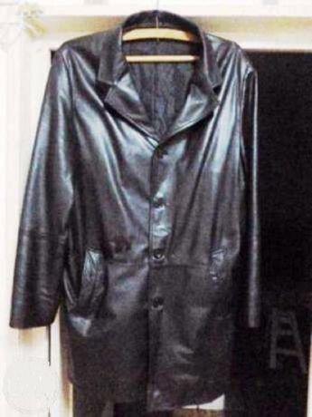 haina culoare neagra piele naturala marimea52/I-xxl,ev.ramburs
