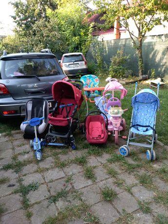 Cărucior biciclete scaune copii