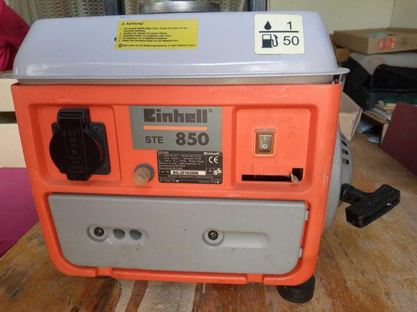Бензинов генератор Einhell Ste 850
