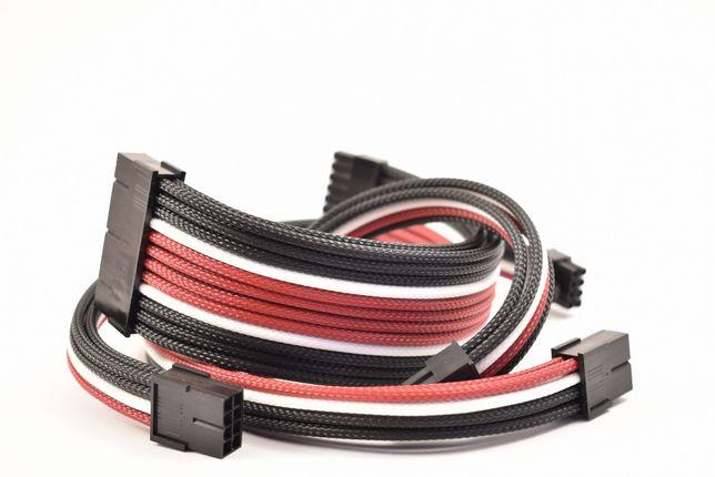 Kit extensie cabluri pc cu sleeve individual