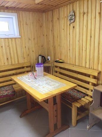 Новая баня на дровах