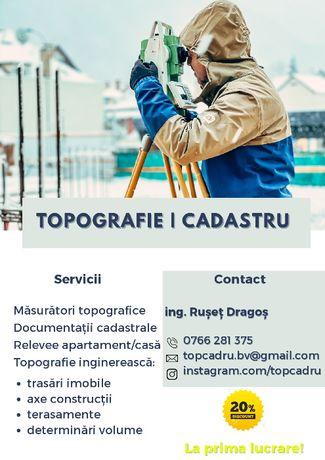 Servicii de topografie si cadastru - Brasov