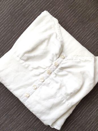Бяла ленена рокля,лятна рокля,къса рокля Esprit