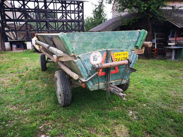 caruta de tonaj remorca tractor