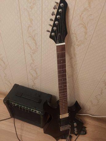 Электро-гитара + комбоусилитель