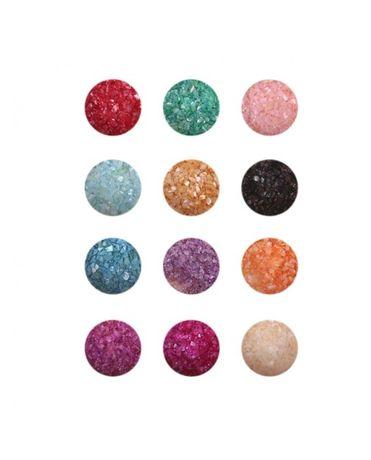 Миден прах за арт маникюр - 12 цвята в комплект