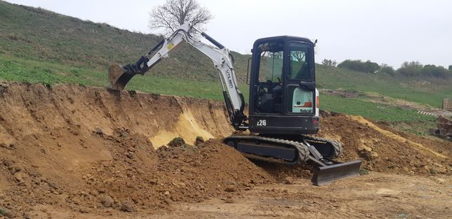 Servicii excavator, bobcat, transport basculabil