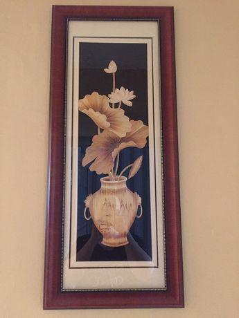 Картина из бамбука