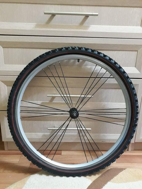Велосипедное колесо 26* в сборе покрышка шина