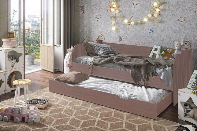 Кровать трансформер Балли, Шимо темный Шимо темный, Стендмебель