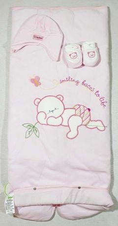 Port bebe fata , culoare roz