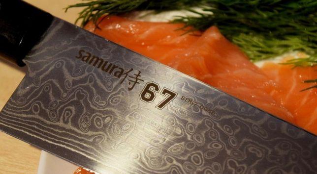 Нож для нарезки слайсер SAMURA 67 DAMASCUS