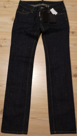 Blugi Dsquared2 Legend Dark Rinsed Jeans, 42, noi