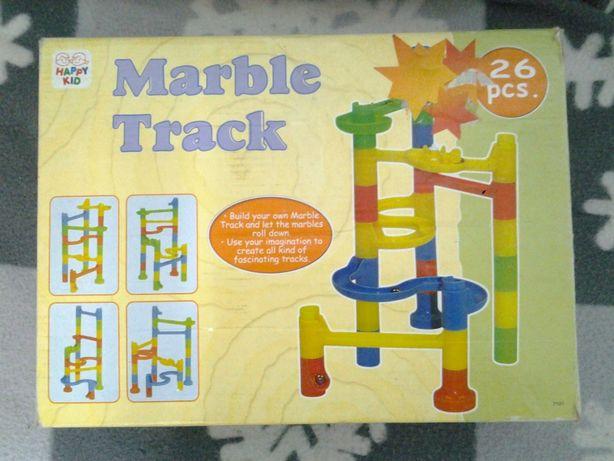 Marble Track - Set de constructie 26 piese pentru copii +4 ani