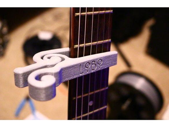 Капо (баре) за китара - персонализирано