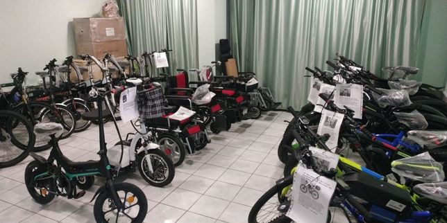 Электровелосипеды, мотор-колеса (электронаборы) .velomir.kz