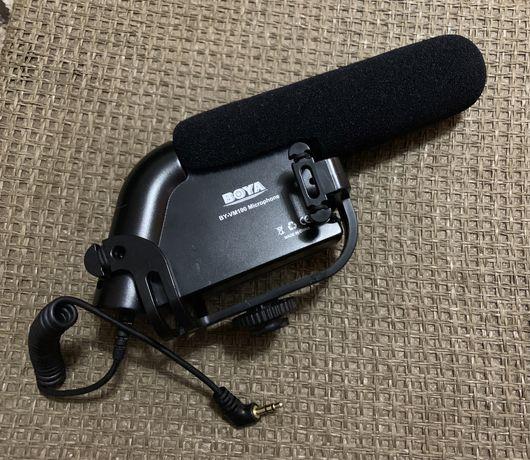 Microfon Boya BY-VM190 Shotgun Pro Stereo Video DSLR