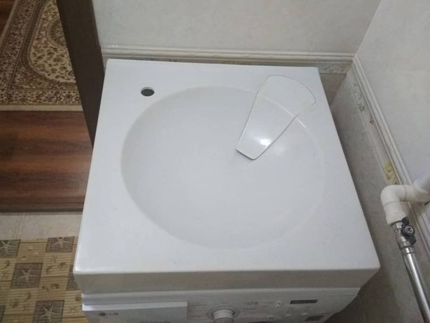 РАКОВИНА для установки над стиральной машиной
