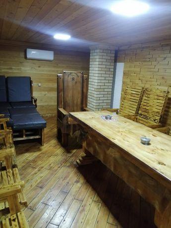 Круглосуточные бани на дровах