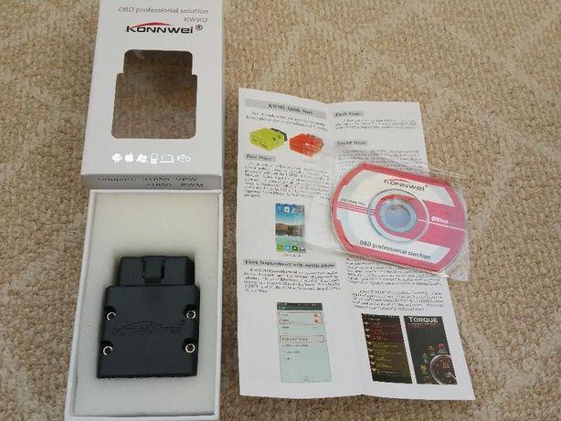 Diagnoza Konnwei KW902 Bluetooth OBD/OBD2, Renault ZOE CanZE, Leaf Spy