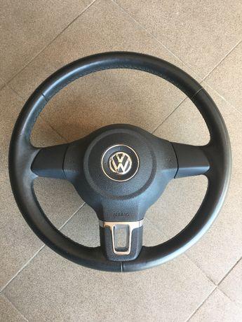 Volan Piele incusiv airbag pt. Vw Tiguan ,Golf 6,Pasat...
