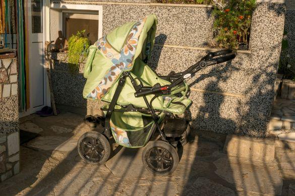Бебешка комбинирана количка Adbor Mikey