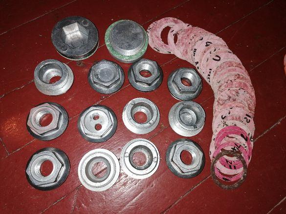 Тапи и уплътнения за алуминиеви радиатори за парно