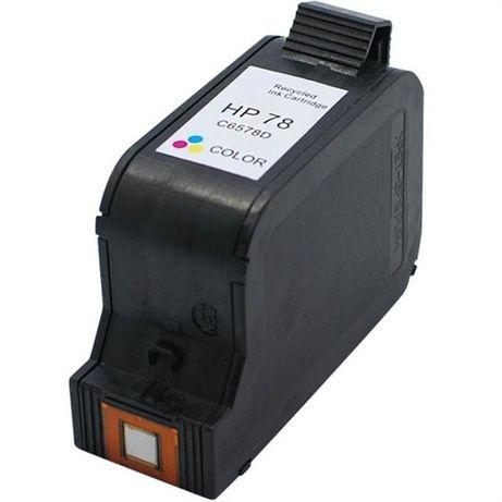 Глава за HP 78 Tri-Color - 560k цветна съвместима мастило (C6578D) HP