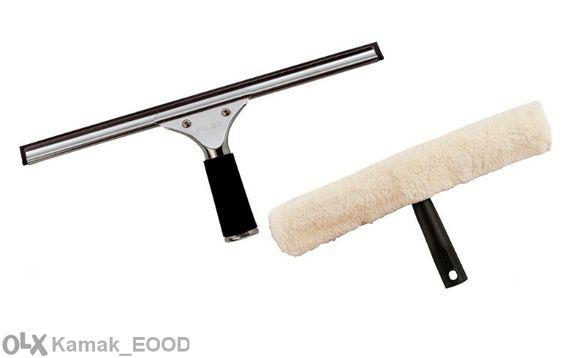 Комплект професионални инструменти за измиване на стъкла