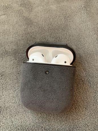 Husa din piele 100% Apple AirPods 1, 2