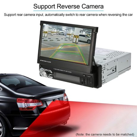 dvd auto Mp5 player retractabil BT telecomanda rama sina