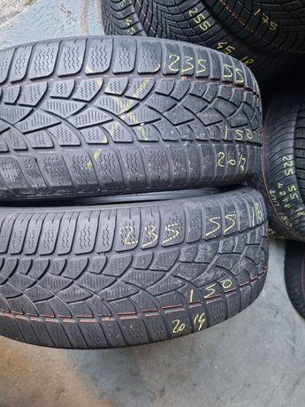 235 55 18 Dunlop m+s