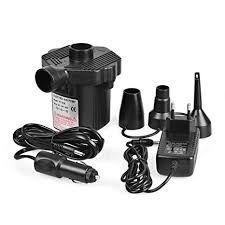 Pompa electrica pentru saltea gonflabila ,adaptor auto
