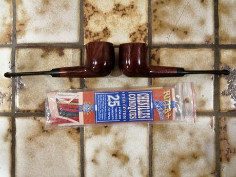 Pipă REAL BRAIN două bucăți și tije de curățat pipă.