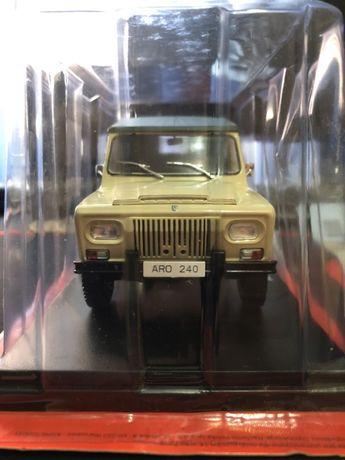 Vand Macheta Auto ARO 240 - 1978, Scara 1:24, Metalica, Sigilata!