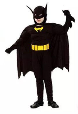 Костюм Батман с мускули,костюми на батман,карнавални костюми,детски