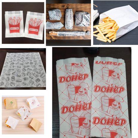 Пакеты 6тг(кор)бумажные для донера .Острый стручковый турецкий перец